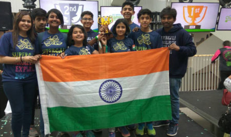Delhi Kids Win Second Prize In Robo Compt In Denmark – Times of India – NIE